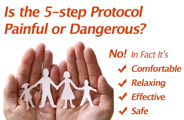 Is the 5-step Protocol Painful or Dangerous